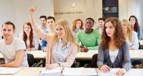Kursbelegung an einer High School in den USA